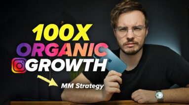 100x Your Instagram GROWTH with this CONTENT Algorithm STRATEGY