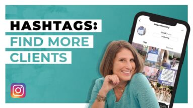Instagram Hashtag Strategy for Business (Follow Hashtags to Find Your Ideal Client)