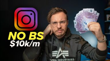 How To Actually Make $10k/m With Your Instagram (2021 Strategy)