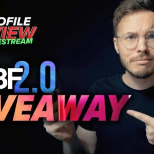IGBF 2.0 Giveaway + IG Profile Review (intense edition)