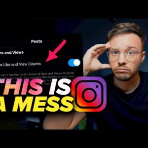 New Instagram Hiding Likes Feature Is A Total MESS