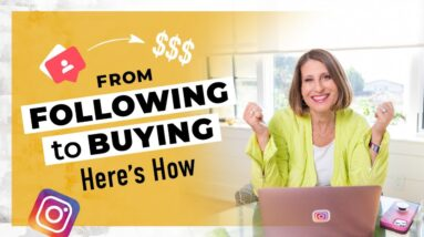How to Turn Followers into Buyers on Instagram (Even if You are New to Instagram)