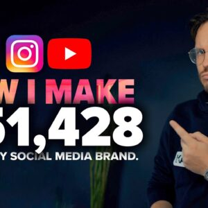 """6 """"Passive"""" Income Ideas - How I Make $50k per Month from Social Media (Real Talk)"""