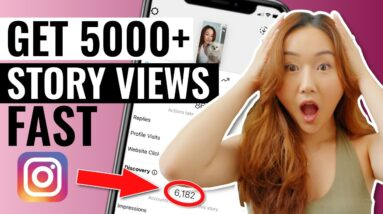 How to Increase Your Instagram Story Views FAST (5,000+ VIEWS)