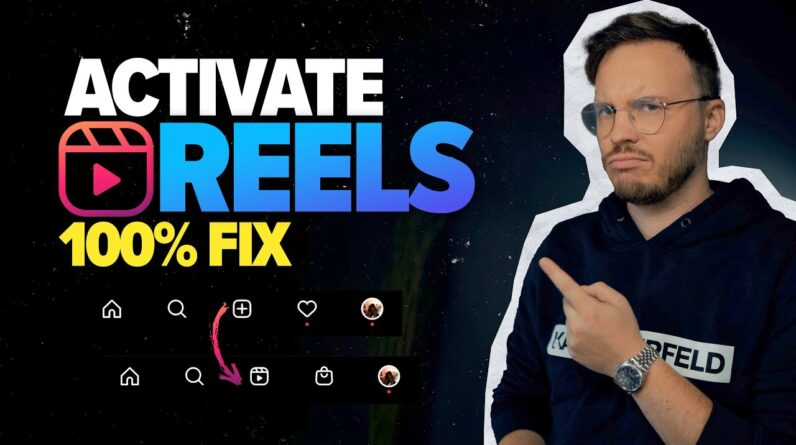 Instagram Reels NOT Showing? Try this! (*Working 2021 Fix*)