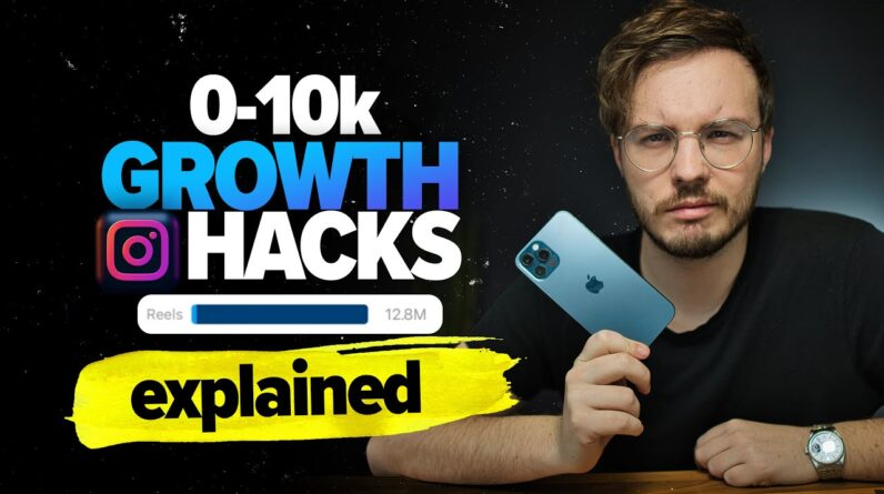 The FASTEST Way To Reach 10k Followers (Instagram Expert Explains Growth Hacks)